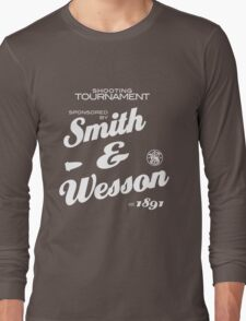 Smith & Wesson  (black) Long Sleeve T-Shirt