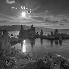 Mono Lake Sunset  by photosbyflood