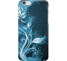 Flames Blue iPhone Case/Skin