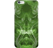 Flames Double Green iPhone Case/Skin