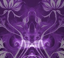 Flames Double Purple II by Joey Kuipers