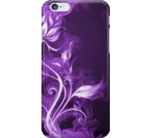 Flames Purple iPhone Case/Skin