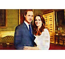 prince william and kate Photographic Print