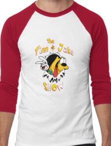 The Finn & Jake Show Men's Baseball ¾ T-Shirt