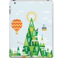 Adventure mountain iPad Case/Skin