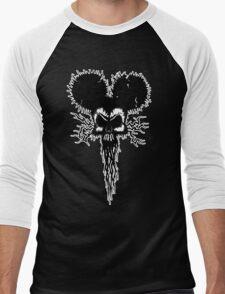 Hammer Mouse of Horror for dark tees Men's Baseball ¾ T-Shirt
