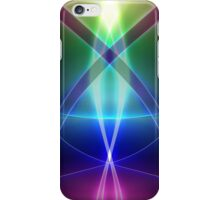 Abstract Rainbow iPhone Case/Skin