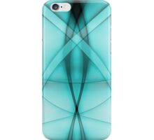 Double Abstract Baby Blue iPhone Case/Skin