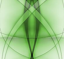Abstract Venom Green by J. Danion