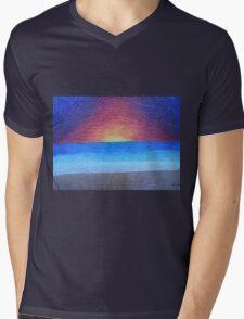 Serene Dream Mens V-Neck T-Shirt