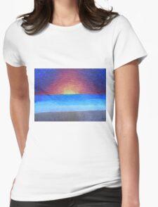 Serene Dream Womens Fitted T-Shirt