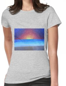 Serene Dream Womens Fitted T-Shirt