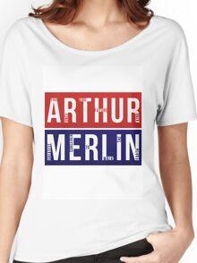Arthur & Merlin Women's Relaxed Fit T-Shirt