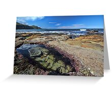Coalcliff Rockpools Greeting Card