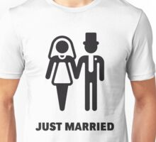Just Married (Bridal Couple) Unisex T-Shirt
