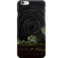 Star trails, Eco resort camp Karijini iPhone Case/Skin