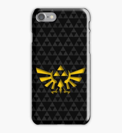 Triforce with background iPhone Case/Skin