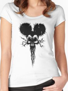 Hammer Mouse of Horror Women's Fitted Scoop T-Shirt