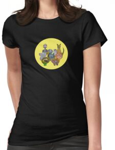 Australian animals Womens Fitted T-Shirt