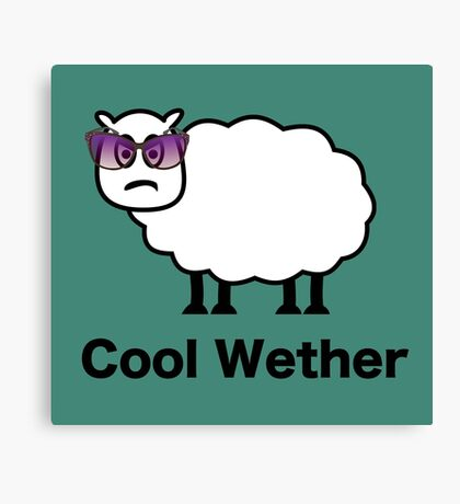 Cool Wether Canvas Print
