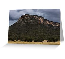 Mountains At Glen Davis Greeting Card