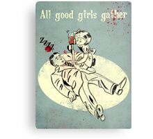 Bioshock - Good Girls Gather Metal Print