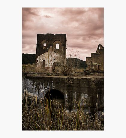 Blast Furnace, Lithgow - Neutral Photographic Print