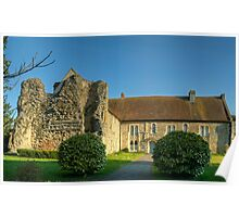Minster Abbey Poster