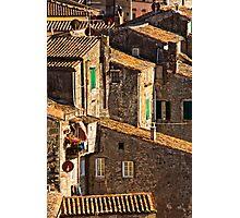 Houses of Sorano Photographic Print