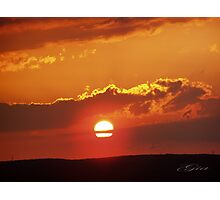 """""""Sunset In The Fall - 3 """" Photographic Print"""