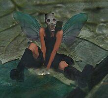 Urban Fairy - Urban Fantasy Art by Galen Valle