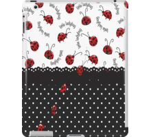 String Of Ladybugs iPad Case/Skin
