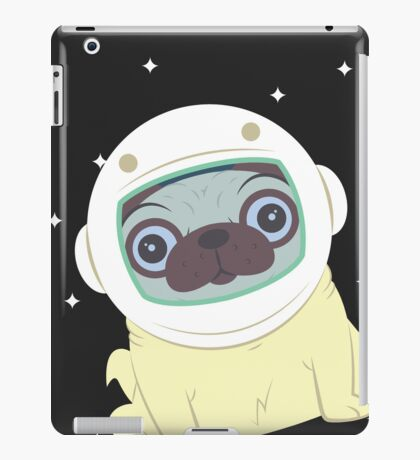 Pug in Space iPad Case/Skin
