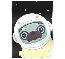 Pug in Space Poster