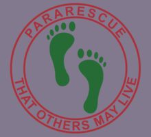 Pararescue PJ Feet Kids Tee