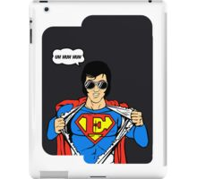 Superman Super Elvis Presley  iPad Case/Skin