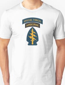 Special Forces Patches T-Shirt