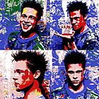 Brad Pitt Pop Art by sgrixti