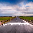 Lands End Start and Finish Line by Chris Thaxter