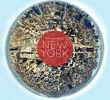 Planet NYC by Michael Baldwin