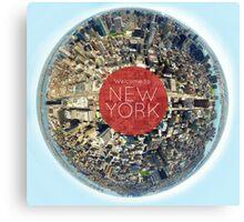 Planet NYC Canvas Print