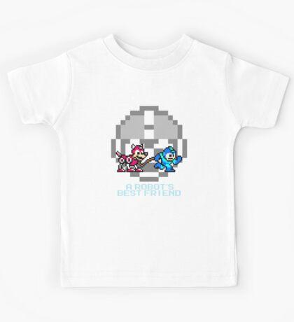 Megaman walking Rush Kids Tee