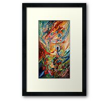 The Angels on Wedding triptych (central) Framed Print