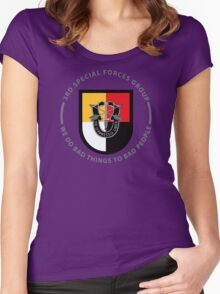 3rd Special Forces Group Women's Fitted Scoop T-Shirt