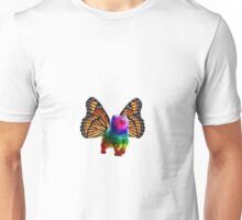 BUTTERFLY RAINBOW UNICORN CAT Unisex T-Shirt