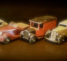 Five Toy Cars from the Forties by John Colley