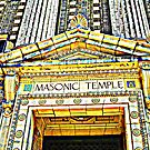 The Magnificant Masonic Temple, Wilkes-Barre, Pennsylvania by Gail Jones