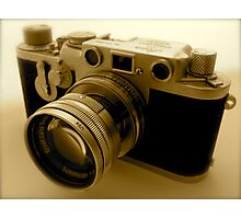 Classic 1950s Leica Camera Photographic Print