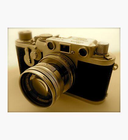 Classic 1950s Leica Camera Photographic Print