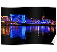 Ars Electronica And The Danube Poster